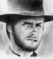 Clint Eastwood by marianne481