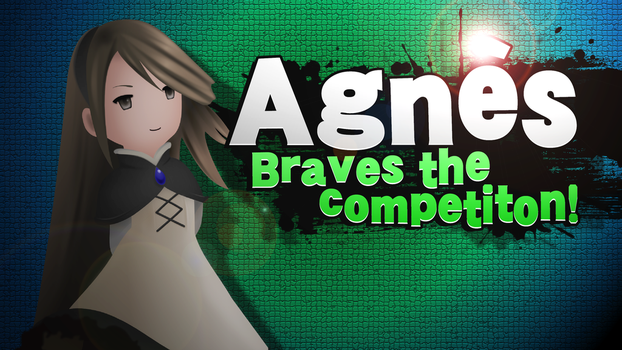 [SSB4 Splash Card] Agnes Braves the competition! by Nintato
