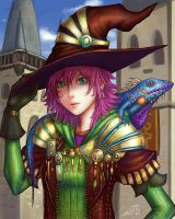 Witch from Garcinia by zamboze