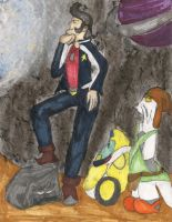 Space Dandy by kingofthedededes73