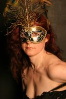 Venetian carnival mask : Stock by Ange1ica-Stock