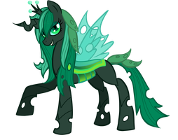 Chrystal Changeling New Design by KrystalDERPx3