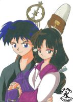 Sango and Miroku : At last by TheAnimeBabe