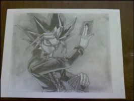 Finished Sketch Yami by xMystery21x