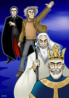 Tribute To Christopher Lee by curtsibling