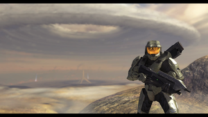 Master Chief on Vacation by Keablr