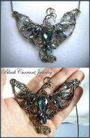 Magical Dove by blackcurrantjewelry