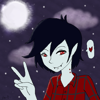 Marshall Lee by NeonPinkSkys