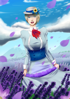 Lavender Field by Kalafin99