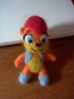 Needle Felted Sally by LilBambina