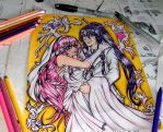 The wedding of luka and gakupo by queencastilla