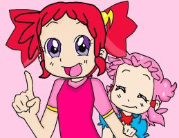 Doremi and Pop for....NEW VERSION! by cupcakeforever18