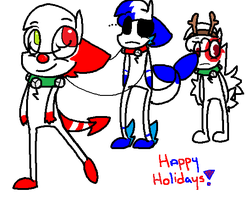 Happy holidays! by King-Blu