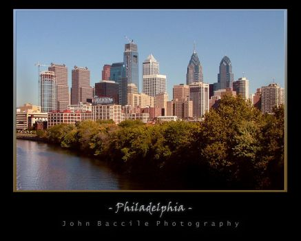 Philly Skyline 2007 by barefootphotography