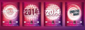 4IN1 Flyer Templates by kaya205