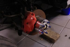 Wheel spacer by compaan-art