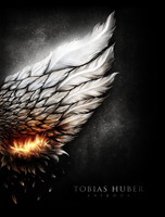 Burning Wing - Book Cover by Dick3rl3