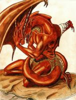 Wounded Dragon by Freelance4