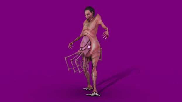 Wilbur Whateley (3D) by SamTremain91