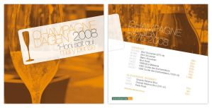 Flyer - Champagnedagen 2008 by h3nque