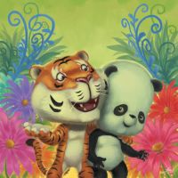 TIGER AND PANDA by LENGARTISTRY
