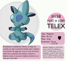 Pokemon Oryu 158 Telex by shinyscyther
