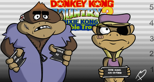 Donkey Kong Country 3 by Tricycloplots