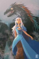 Mother of dragons by Gahiko