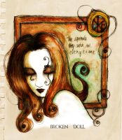 A broken doll by stolenwings