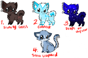 Point Adoptables 2 CLOSED by SupuAdopts