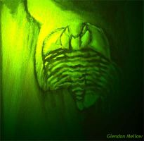 Acid-green Trilobite by GlendonMellow