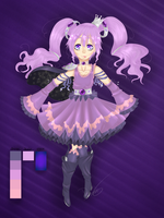 [Co entry] Seraphine, the royal magical girl by Rosellaz