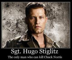 Hugo Stiglitz - Demotivational by stebo88
