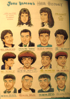 John Deacon's Hair History by QueenAnatolia
