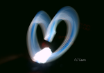 Light painting. by GoldeenSunshine