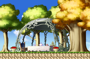 MapleStory Custom Background - Lonely Place by Akarituturu