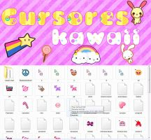 Cursores Kawaii by NiaaEditions