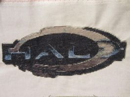 Halo-Logo Cross Stitch by Melian-Vidumavi