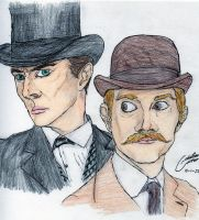 The Game is Afoot-Sherlock by CristianGarro