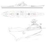 Modern Battleship concept by Darkheart1987