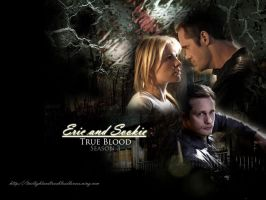 Eric and Sookie trueblood sea3 by hazelxxx