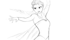 Elsa (WIP) by GamerZzon
