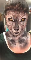 Painted Wolf by ArtdancerMake-up