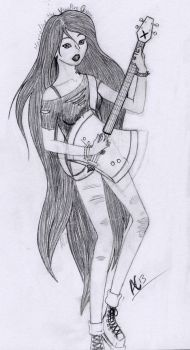 Marceline by AutumnOwl