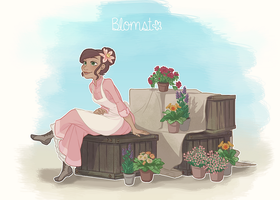 Blomst - Frozen OC by NightLiight