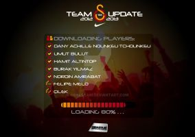 Team Update Galatasaray 12/13 by GShastasi