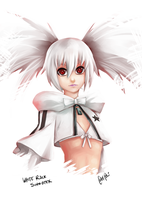 White Rock Shooter Bust by ComiPa