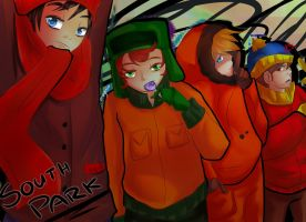 Moar South Park Bois by aaynra