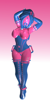 Bubble Girl test Suit by Alczak