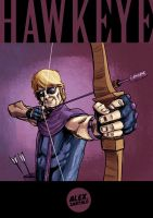 Another Hawkeye by alexsantalo